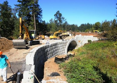 RETAINING WALL DESIGN, MONITORING & TESTING