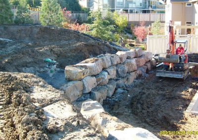 ROCKERY WALL DESIGN, MONITORING & TESTING
